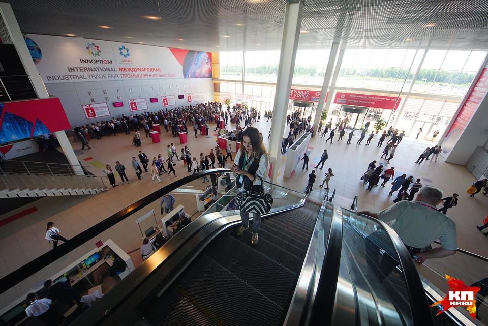 """13 июля проходит заключительный день международной промышленной выставки """"Иннопром-2017"""""""