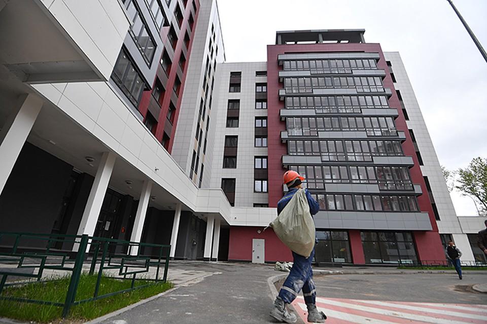 Реновация повысит объёмы строительства жилья в Москве в год до 1 - 2 миллиона квадратных метров