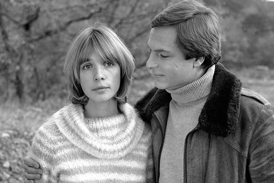 Вера Глаголева и Родион Нахапетов в 1984 году.