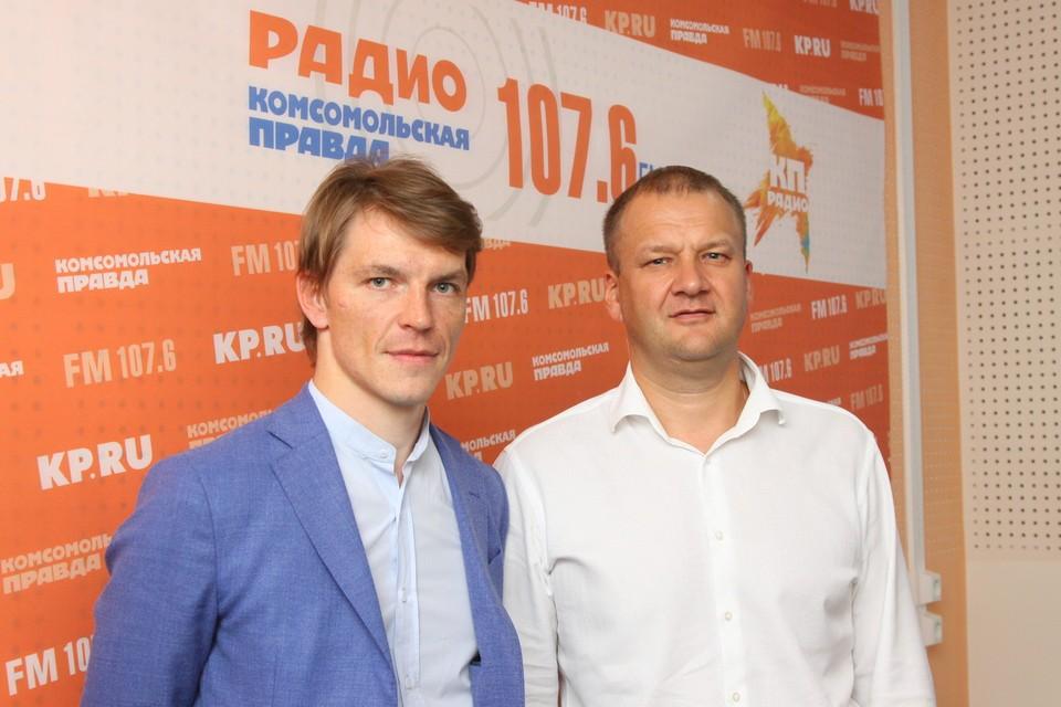 Вячеслав Правдзинский и Олег Гарин