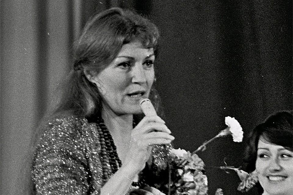 Концерт Анны Герман в Москве, 1979 год.