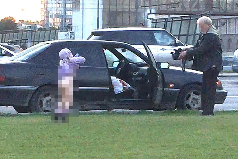 Мужчина был задержан полицейскими, но позднее был отпущен домой. ФОТО предоставлено читателем.