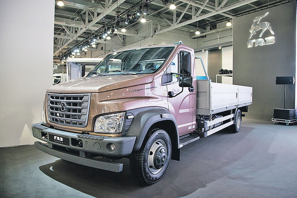 Масса нового грузовика «ГАЗон NEXT» возросла до 10 т. Фото: Анастасия САВЕЛЬЕВА