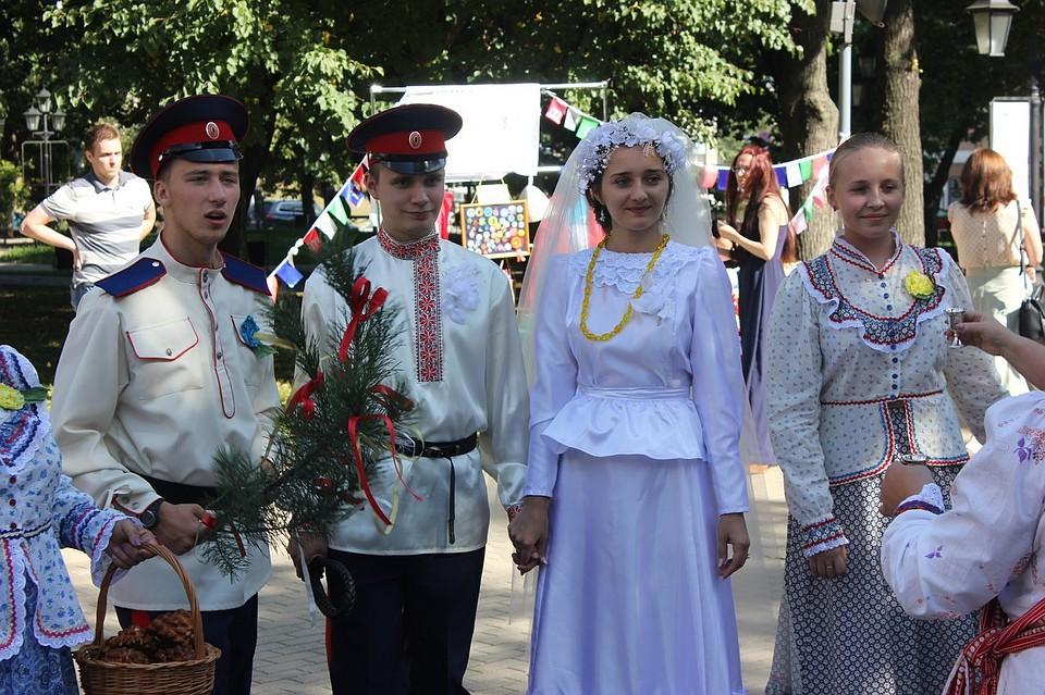 Старые фото казачьей свадьбы