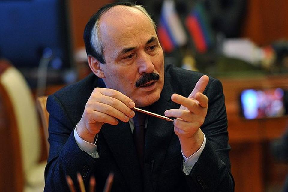 Рамазан Абдулатипов сегодня напишет заявление об отставке