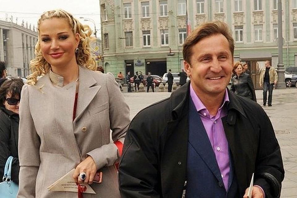 Мария Максакова с бывшим гражданским мужем Владимиром Тюриным