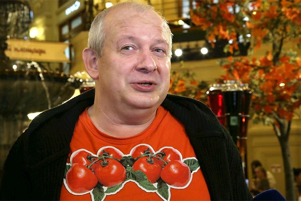 Актер Дмитрий Марьянов осенью 2016 года.