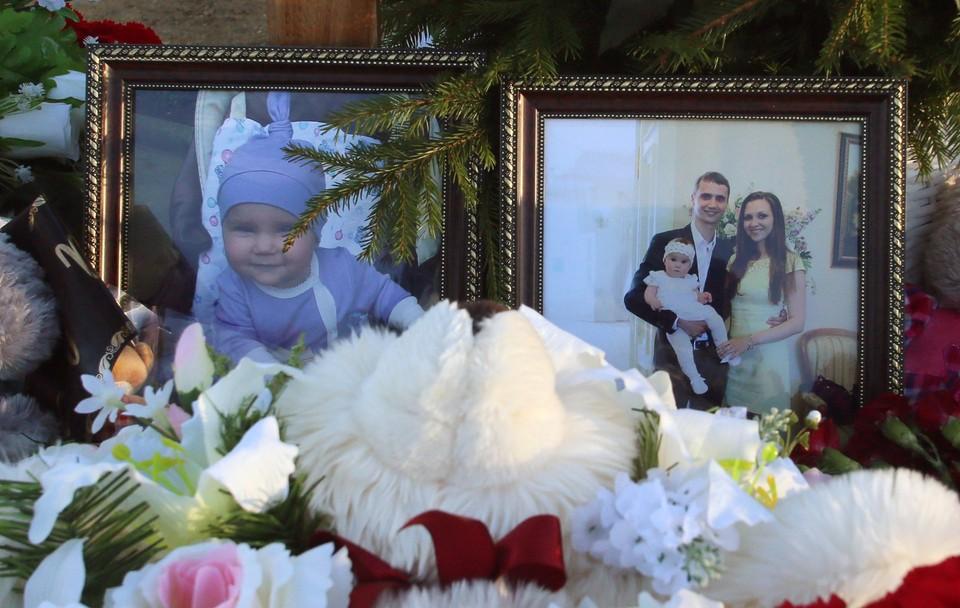 Семью похоронили в Пушкине