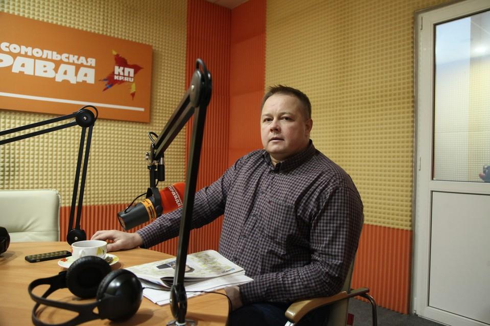 Директор Ставропольского училища олимпийского резерва Дмитрий Савенко