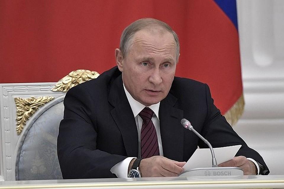 Путин представит к госнаградам ушедших в отставку губернаторов