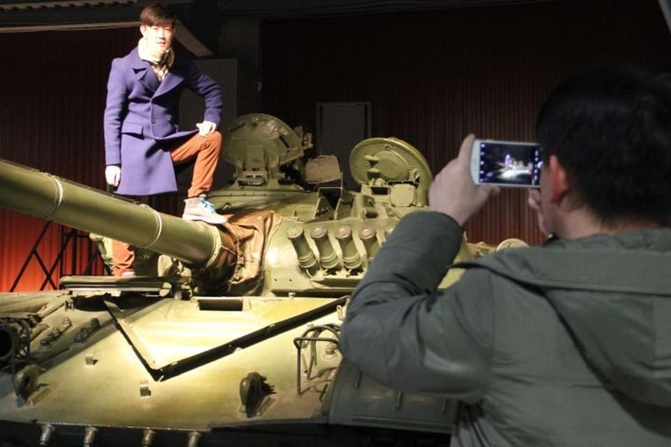 Побывали гости и в Музее бронетанковой техники в Нижнем Тагиле. Фото: Центр развития туризма Свердловской области