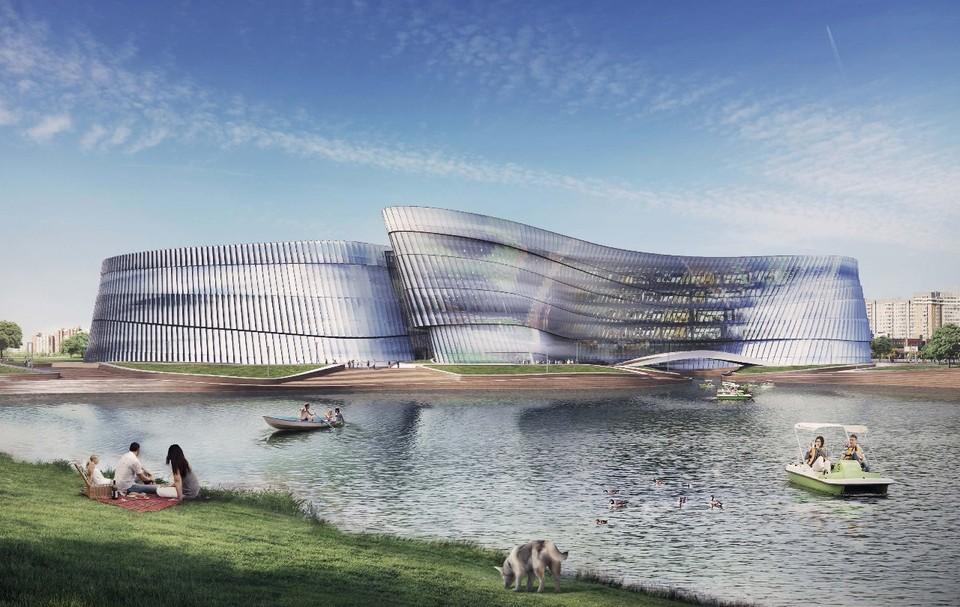 Огромное здание закроет вид на парк Фото: комитет по инвестициям