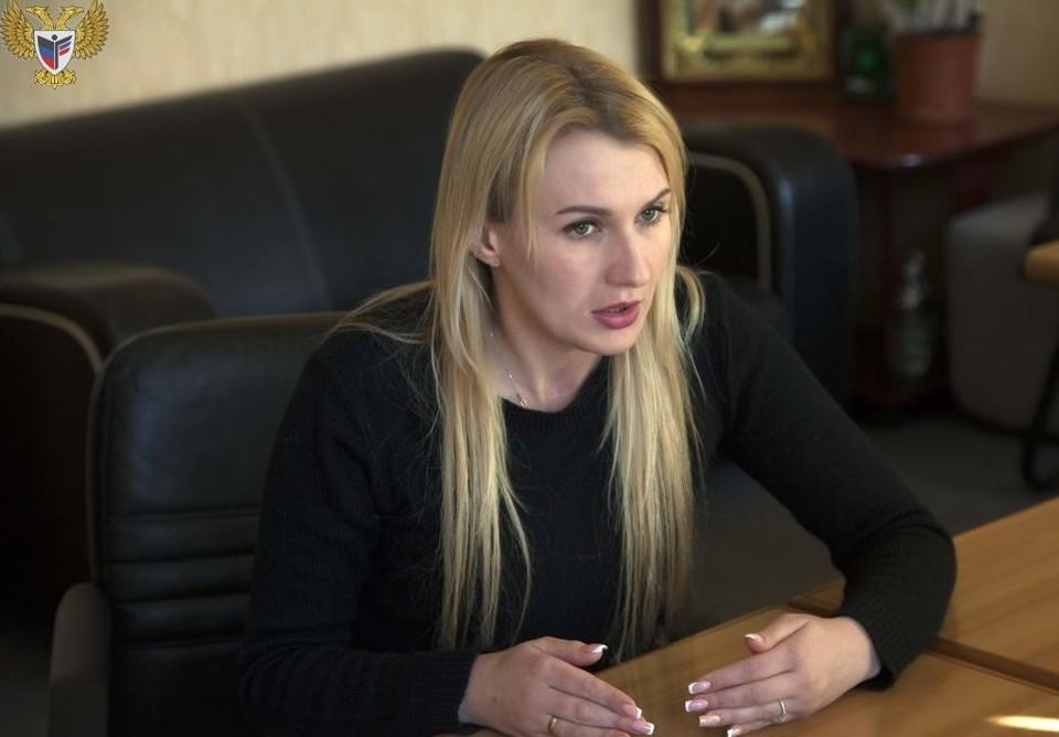 Дарья Морозова. Фото: Официальный сайт уполномоченного по правам человека в ДНР
