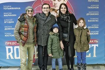 Сергей Безруков впервые показал своих старших детей