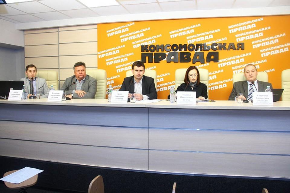 Круглый стол в пресс-центре «Комсомольской правды в Нижнем Новгороде».
