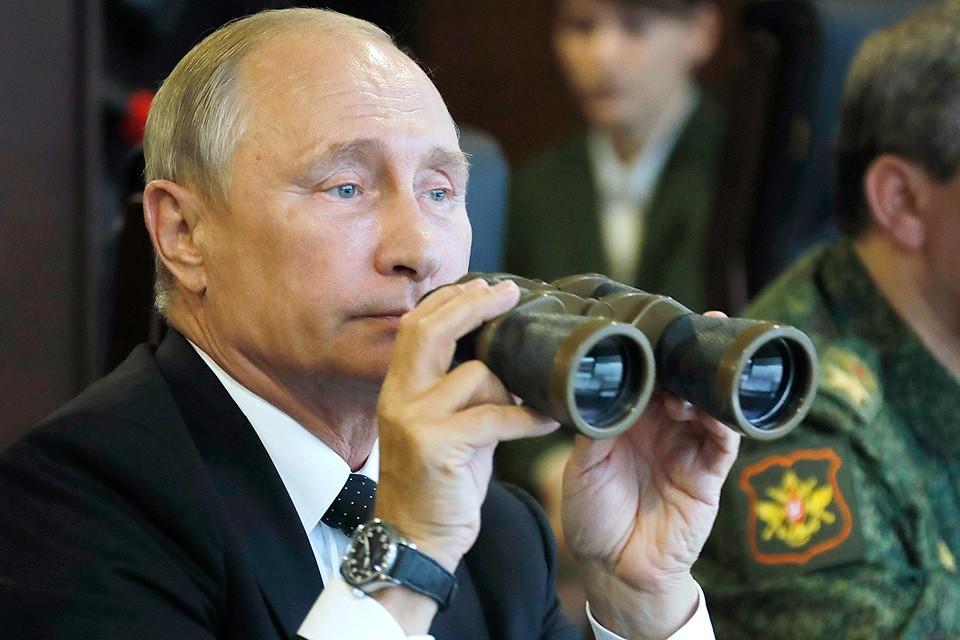 Владимир Путин объявил о выводе российских войск из Сирии. ФОТО Михаил Метцель/ТАСС
