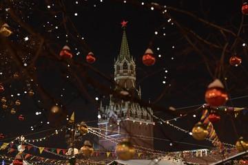 Поздравьте москвичей с Новым годом