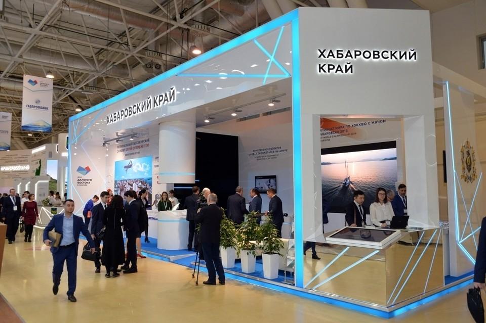 На ярмарке представлены кадровые возможности и потенциал предприятий Хабаровского края.