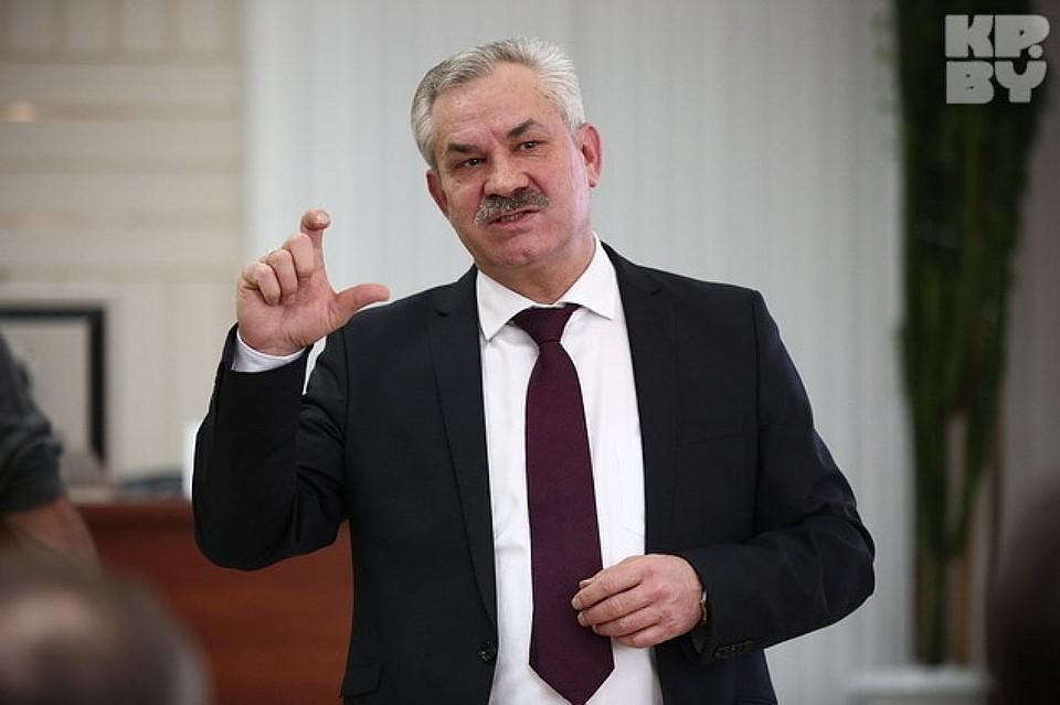 Министр энергетики Белоруссии Владимир Потупчик