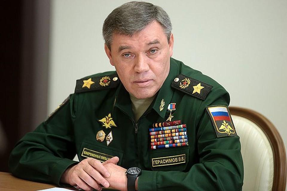 Начальник Генштаба ВС РФ Валерий Герасимов Фото Михаил Метцель ТАСС
