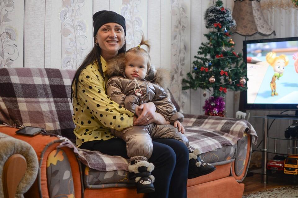 Ольга Шарафутдинова до сих пор не верит, что будет жить в современной квартире со всеми удобствами.