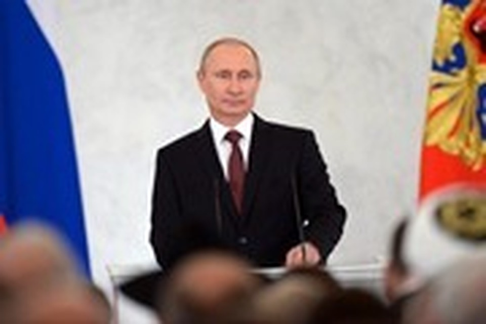 В поддержку кандидатуры Владимира Путина начался сбор подписей.