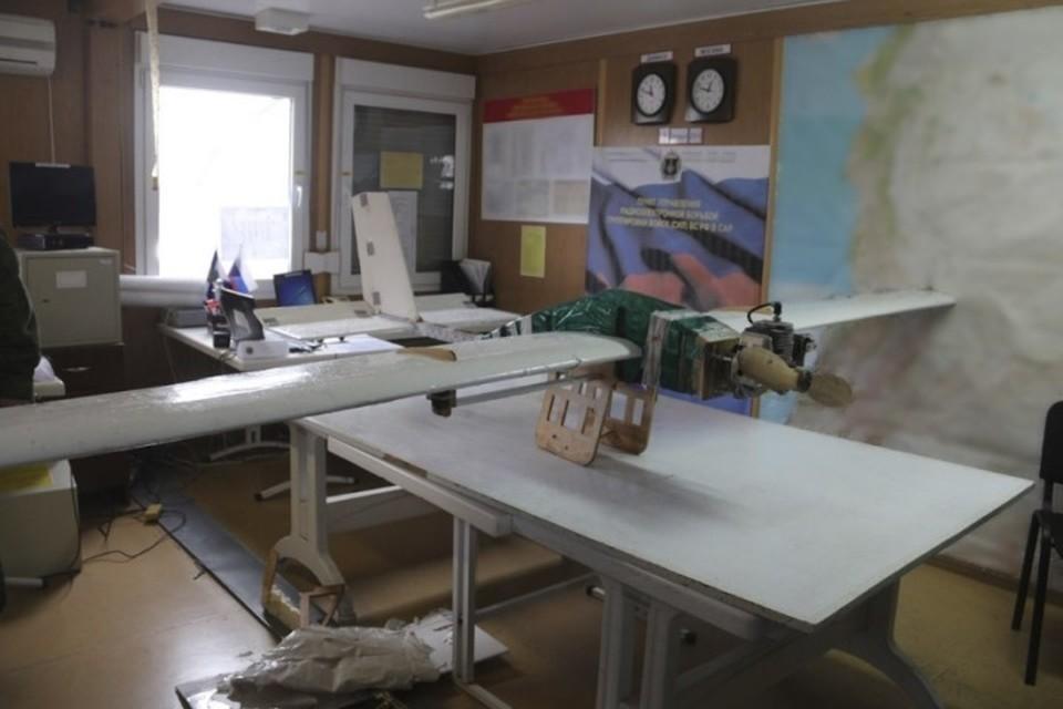 Один из беспилотных летательных аппаратов (БПЛА) террористов. Фото: министерство обороны России