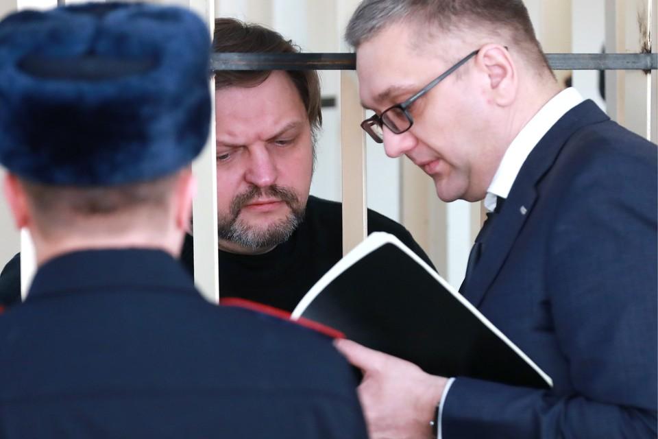Никита Белых в Пресненском суде ФОТО Сергей Фадеичев/ТАСС