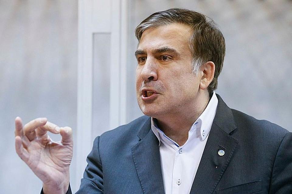 Украинский политик Михаил Саакашвили