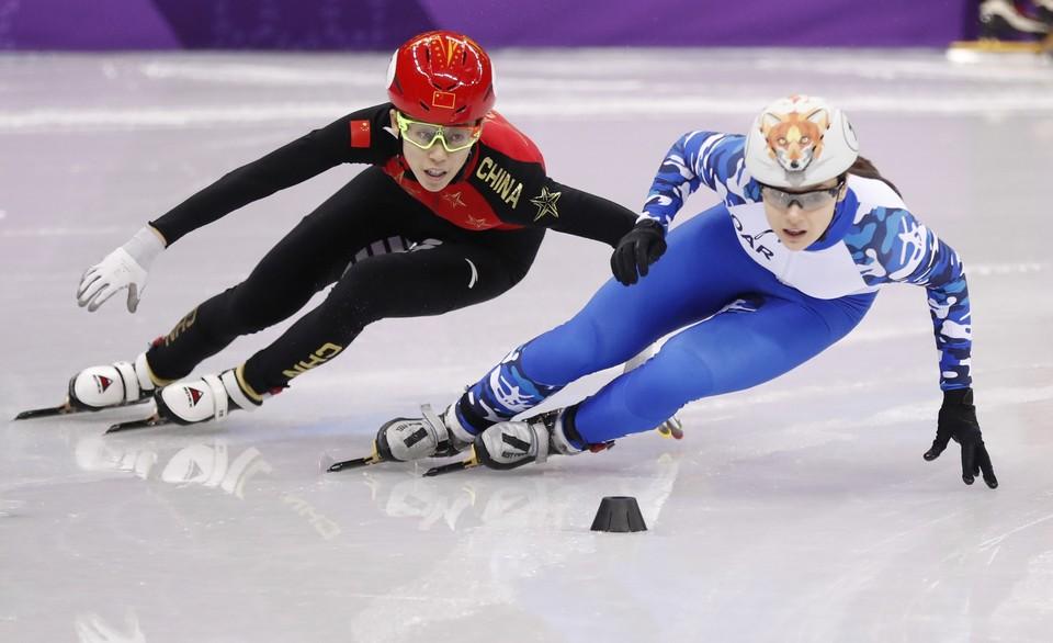 Россиянка победила китайскую спортсменку в четвертьфинале.