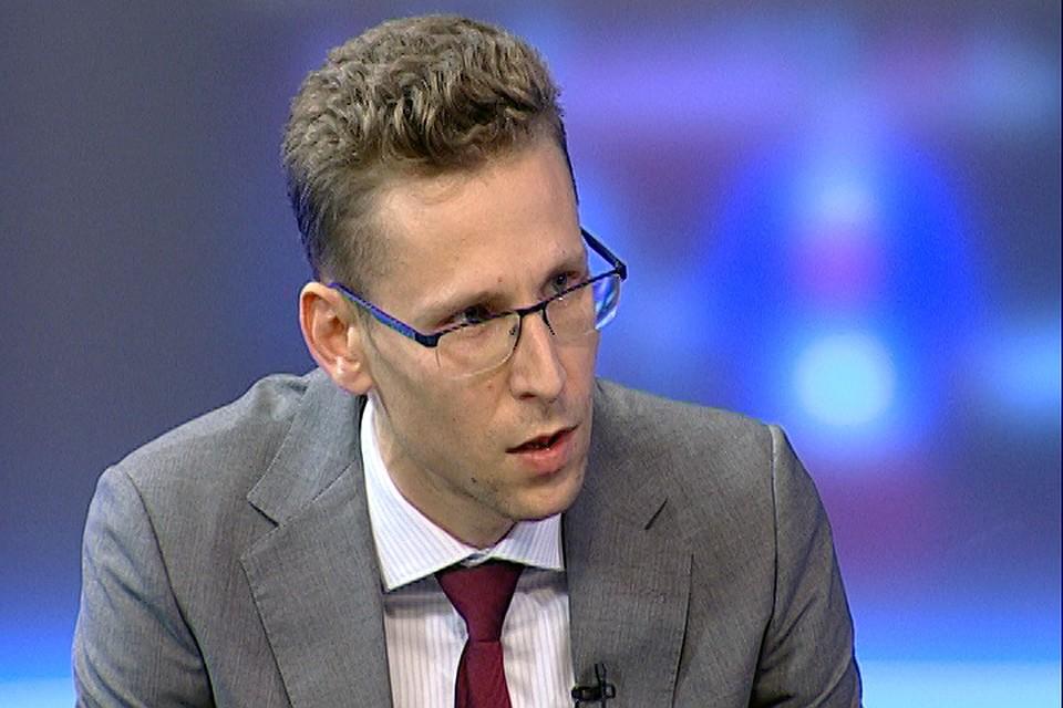 Начальник управления развития малого и среднего предпринимательства Краснодарского края Виталий Воронов