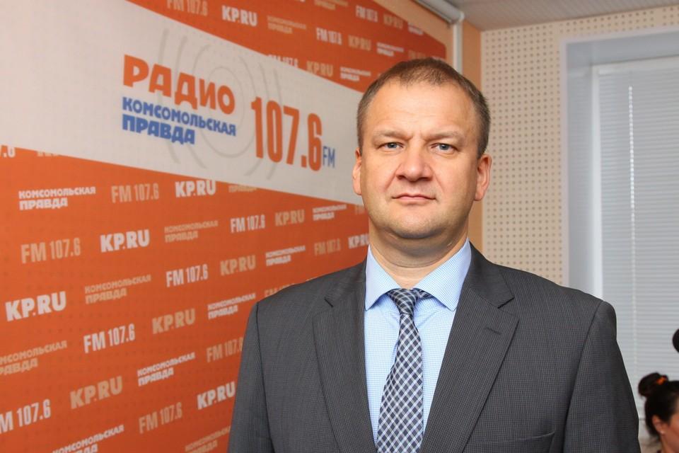 Олег Гарин, председатель Городской думы города Ижевска
