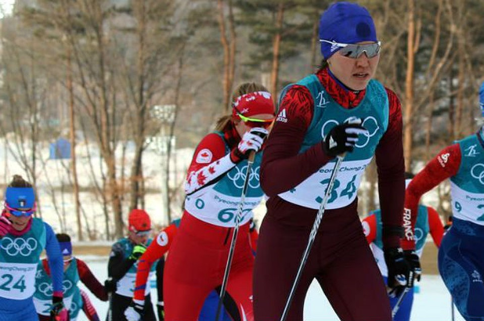 Фото лыжницы анны крафт 7