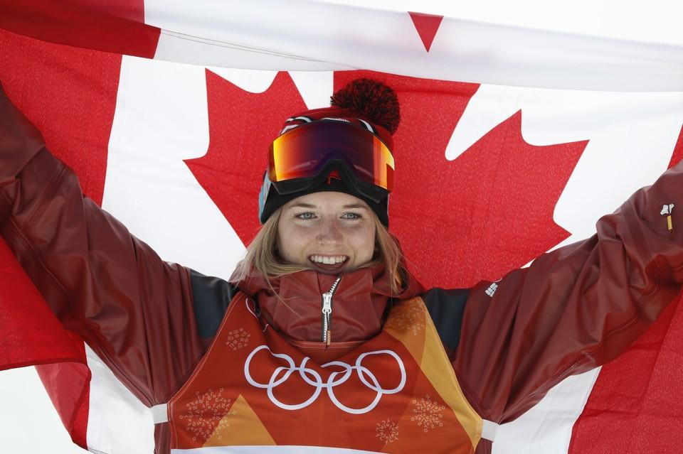 Канадская фристайлистка - чемпионка Олимпиады 2018.