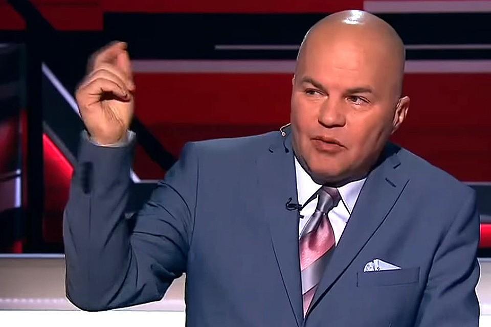 Вячеслав Ковтун в очередном эфире политического ток-шоу.