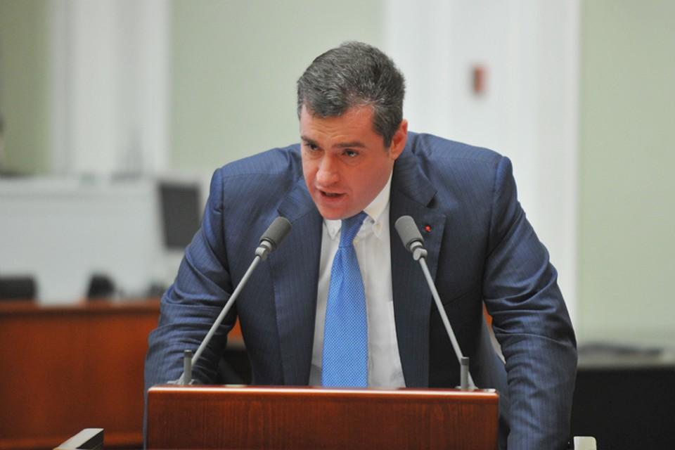 Главу думского Комитета по международным делам Леонида Слуцкого обвинили в сексуальных домогательствах