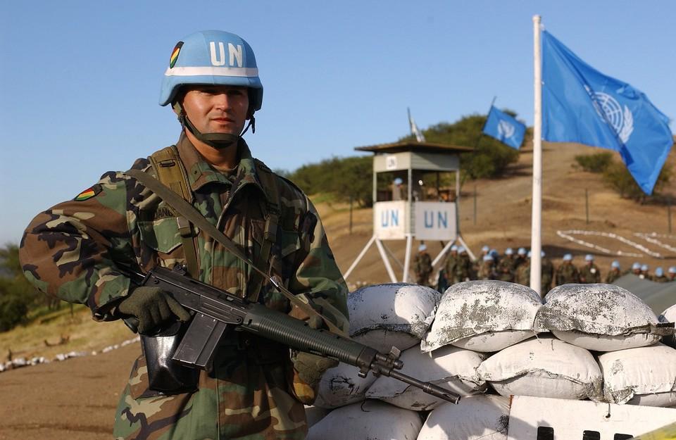 Опыт конфликтов в других странах показывает, что миротворцы - не панацея от бесчинств и кровопролития. Фото: wikipedia.org