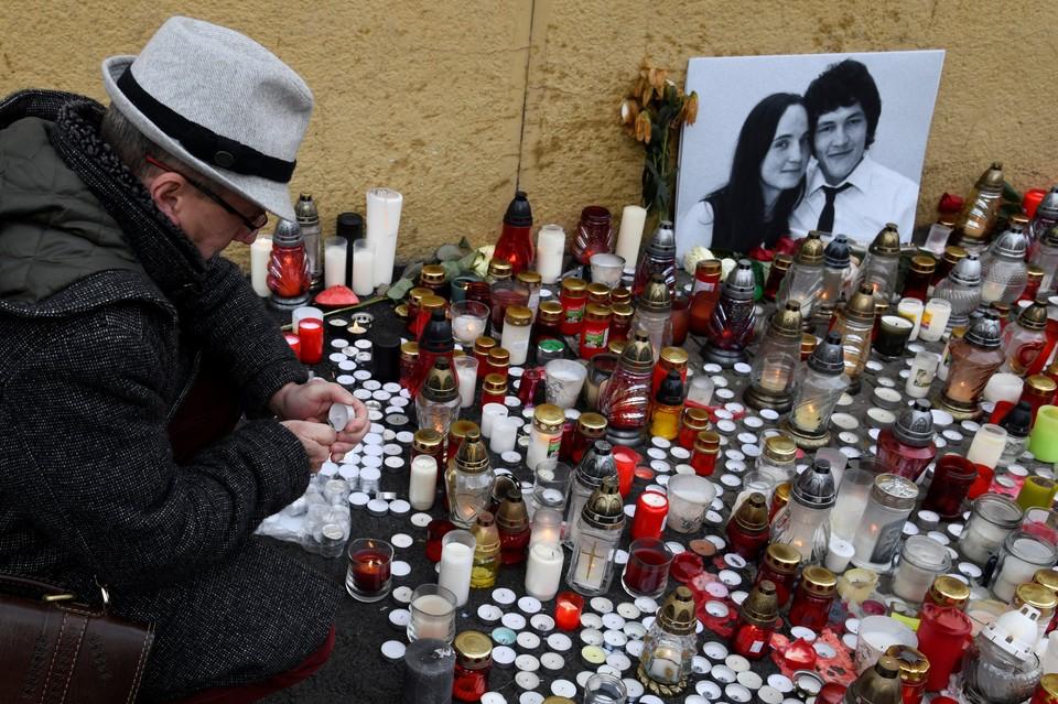 Журналиста Яна Куциака и его подругу нашли застреленными в ночь на 26 февраля
