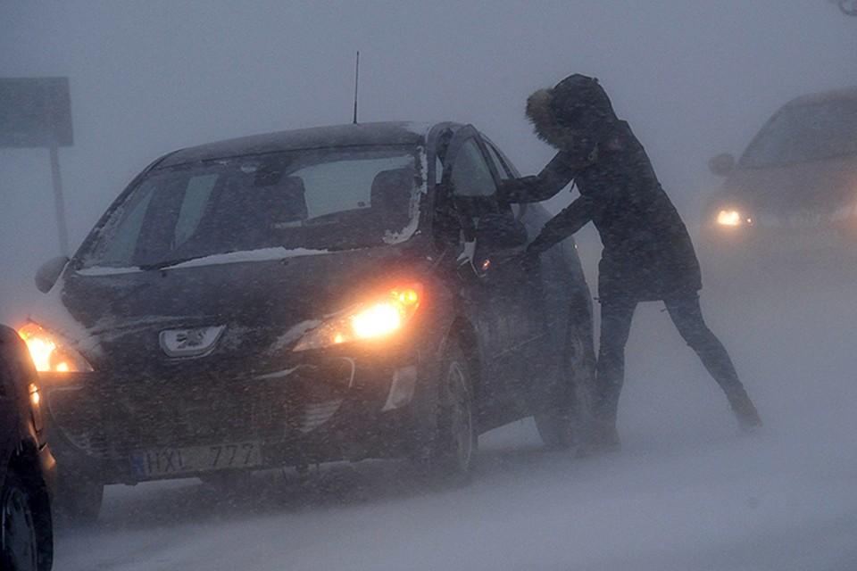 """Холода и снег в Европу принес тот же самый арктический антициклон, который """"виноват"""" в аномальных морозах в Европейской части России"""