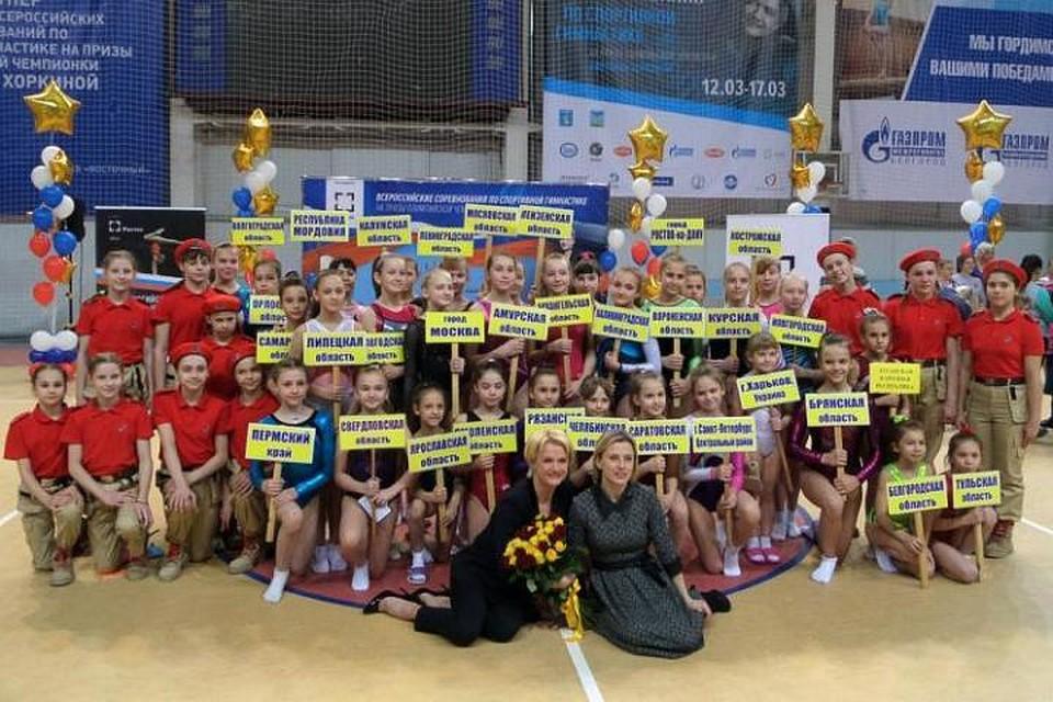 В Белгороде стартовал турнир по спортивной гимнастике на призы Светланы Хоркиной. Фото пресс-службы БелГУ