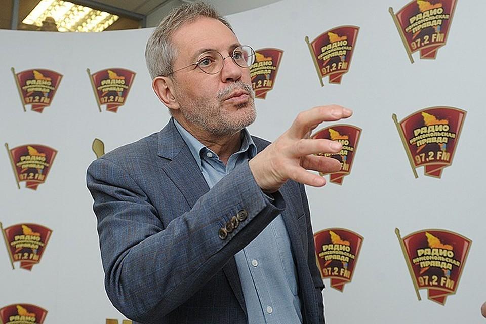 Михаил Леонтьев в редакции «КП», апрель 2017 года