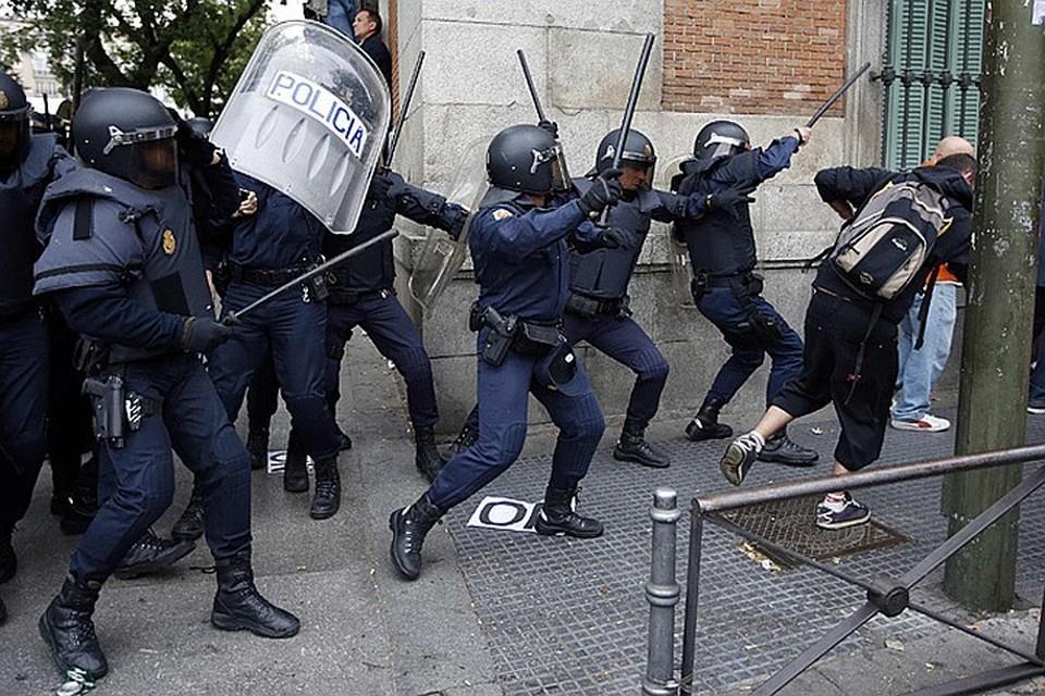 Смерть торговца в Мадриде спровоцировала уличные беспорядки