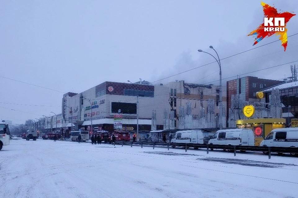 Опознаны две жертвы пожара в кемеровской «Зимней вишне»