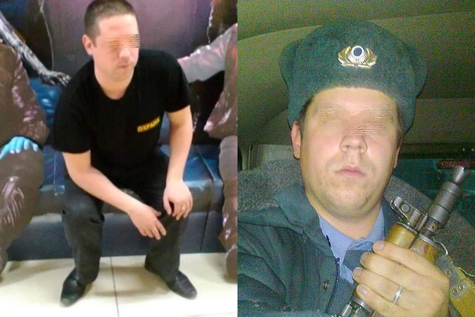 Задержанный охранник раньше служил во внутренних войсках МВД, работал милиционером, бывал в горячих точках