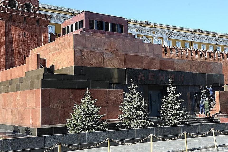 интернет-обыватели секреты мавзолея ленина фото расположена