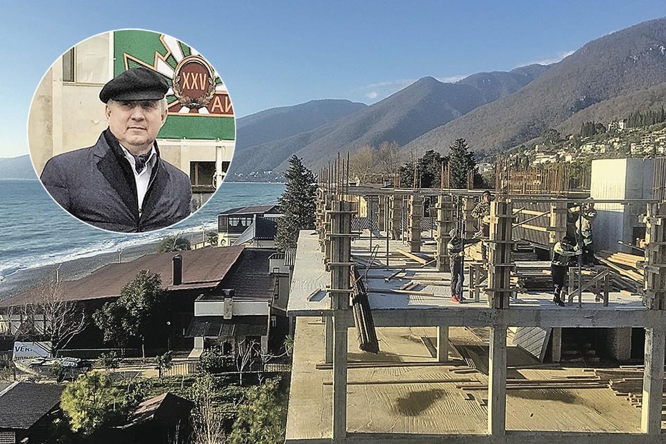 Раньше в Абхазии строились только кафе и гостиницы. Скандал начался, когда решили построить завод.