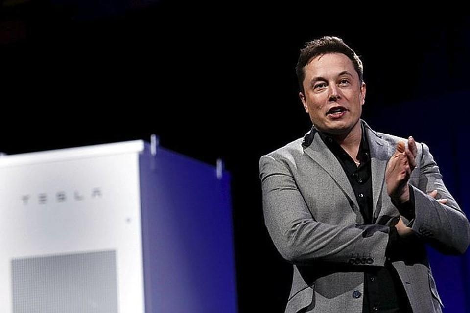 Глава компании Tesla Илон Маск