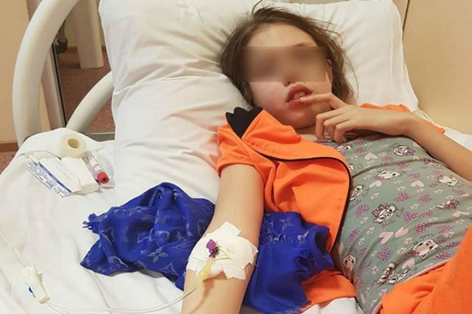 Девочку госпитализировали, сейчас ей уже лучше. Фото: Олеся Легостаева