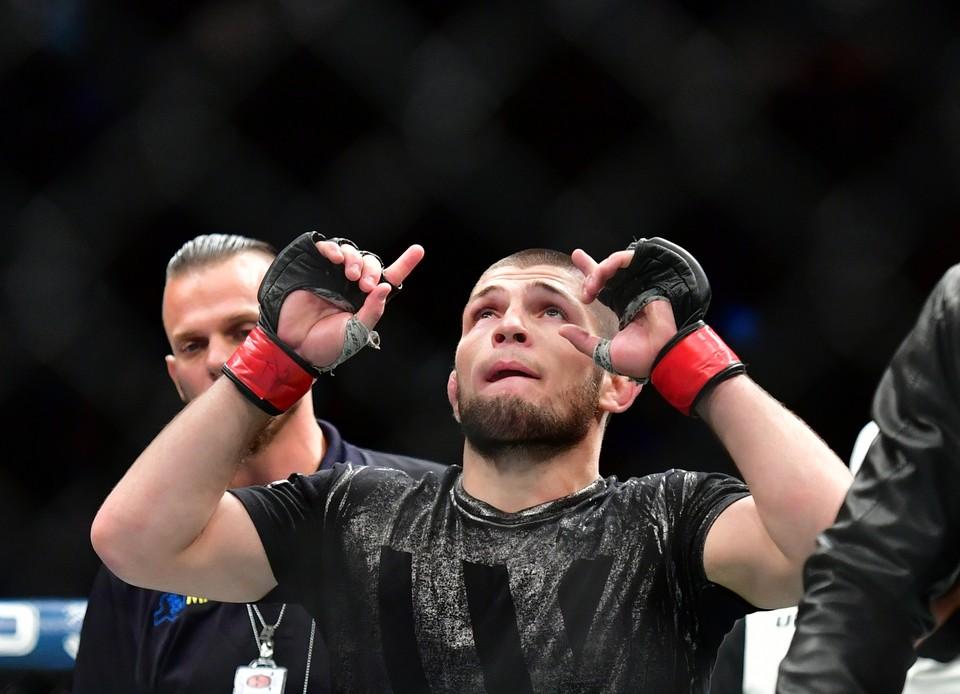 Хабиб Нурмагомедов - первый в истории российским чемпионом UFC.