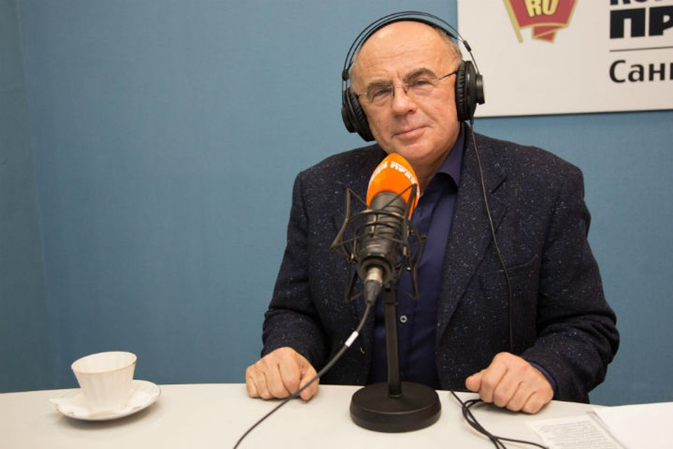 Александр Запесоцкий в гостях у Радио «Комсомольская правда в Санкт-Петербурге»